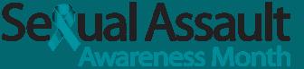 Sexual Assualt Awareness Month Logo