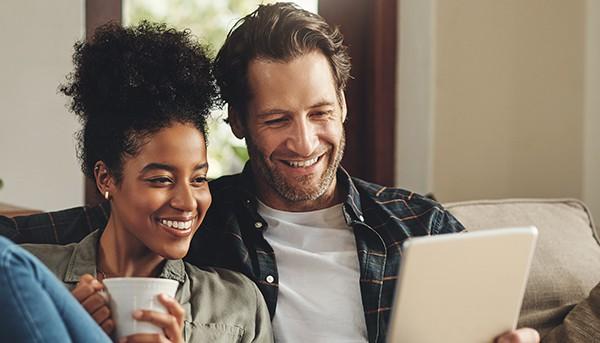 Parents connecting online